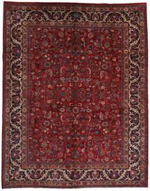 Mashad Matto 292X373 Itämainen Käsinsolmittu Tummanpunainen/Musta Isot (Villa, Persia/Iran)