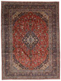 Keshan Matto 300X392 Itämainen Käsinsolmittu Tummanruskea/Tummanpunainen Isot (Villa, Persia/Iran)