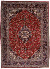 Keshan Matto 313X428 Itämainen Käsinsolmittu Tummanpunainen/Tummanharmaa Isot (Villa, Persia/Iran)
