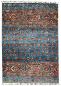 Shabargan Matto 103X152 Moderni Käsinsolmittu Vaaleanharmaa/Tummanharmaa (Villa, Afganistan)