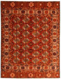 Moderni Afghan Matto 237X313 Moderni Käsinsolmittu Ruoste/Tummanruskea (Villa, Afganistan)