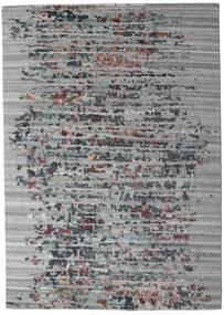 Damask Collection Matto 164X231 Moderni Käsinsolmittu Vaaleanharmaa/Tummanharmaa ( Intia)