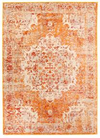Nadine - Oranssi Matto 160X230 Moderni Vaaleanpunainen/Tummanbeige ( Turkki)