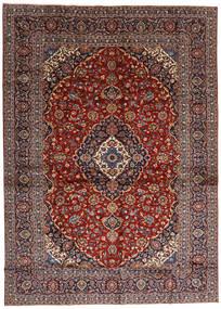 Keshan Matto 284X397 Itämainen Käsinsolmittu Tummanpunainen/Tummanruskea Isot (Villa, Persia/Iran)