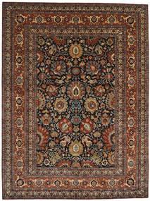 Farahan Matto 299X396 Itämainen Käsinsolmittu Tummanruskea/Vaaleanruskea Isot (Villa, Pakistan)