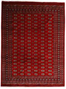 Pakistan Bokhara 3Ply Matto 248X331 Itämainen Käsinsolmittu Tummanpunainen/Tummanruskea (Villa, Pakistan)