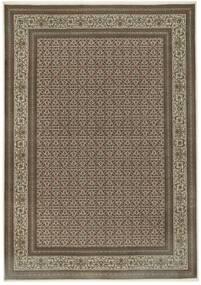 Tabriz 50 Raj Matto 255X365 Itämainen Käsinsolmittu Vaaleanharmaa/Vaaleanruskea Isot (Villa/Silkki, Persia/Iran)