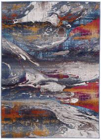 Mirro Matto 118X176 Moderni Tummanharmaa/Vaaleanharmaa ( Turkki)