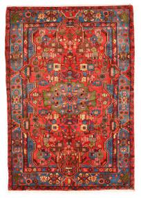 Nahavand Old Matto 159X228 Itämainen Käsinsolmittu Tummanpunainen/Punainen (Villa, Persia/Iran)