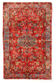 Nahavand Old Matto 153X240 Itämainen Käsinsolmittu Punainen/Tummanpunainen (Villa, Persia/Iran)