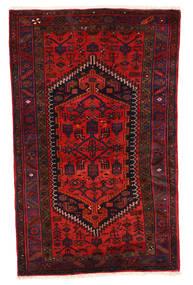 Zanjan Matto 117X187 Itämainen Käsinsolmittu Tummanpunainen/Ruoste (Villa, Persia/Iran)