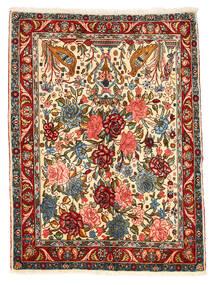 Bakhtiar Collectible Matto 101X148 Itämainen Käsinsolmittu Tummanharmaa/Punainen (Villa, Persia/Iran)