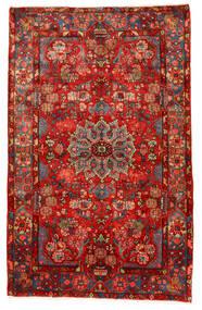 Nahavand Old Matto 155X245 Itämainen Käsinsolmittu Tummanpunainen/Ruoste (Villa, Persia/Iran)