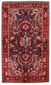 Nahavand Matto 143X244 Itämainen Käsinsolmittu Tummanpunainen/Tummansininen (Villa, Persia/Iran)