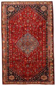 Shiraz Matto 177X281 Itämainen Käsinsolmittu Ruoste/Tummanpunainen (Villa, Persia/Iran)
