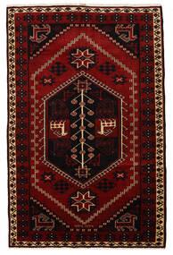 Lori Matto 172X265 Itämainen Käsinsolmittu Tummanpunainen/Punainen (Villa, Persia/Iran)