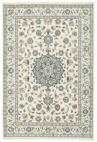 Kashmar Matto 141X205 Itämainen Käsinsolmittu Beige/Vaaleanharmaa (Villa/Silkki, Persia/Iran)