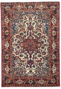 Najafabad Matto 145X217 Itämainen Käsinsolmittu Tummanruskea/Tummanpunainen (Villa, Persia/Iran)