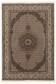 Moud Sherkat Farsh Matto 177X253 Itämainen Käsinsolmittu Tummanruskea/Vaaleanharmaa (Villa/Silkki, Persia/Iran)