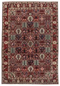 Bakhtiar Matto 270X375 Itämainen Käsinsolmittu Tummanpunainen/Tummanruskea Isot (Villa, Persia/Iran)