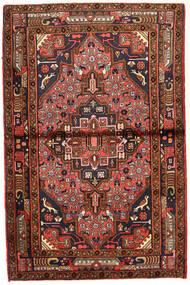 Koliai Matto 98X150 Itämainen Käsinsolmittu Tummanpunainen/Tummanruskea (Villa, Persia/Iran)