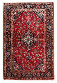 Keshan Matto 98X148 Itämainen Käsinsolmittu Tummanruskea/Tummanpunainen (Villa, Persia/Iran)