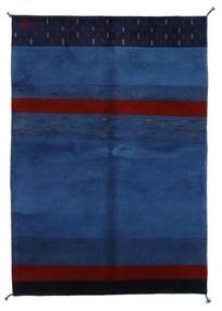 Gabbeh Indo Matto 143X205 Moderni Käsinsolmittu Tummansininen/Tummanvioletti (Villa, Intia)