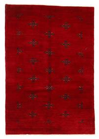 Huttan Matto 125X183 Itämainen Käsinsolmittu Tummanpunainen (Villa, Pakistan)