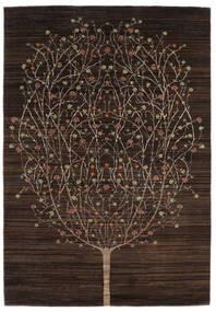 Gabbeh Loribaft Matto 169X243 Moderni Käsinsolmittu Tummanruskea (Villa, Intia)