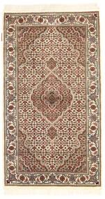 Tabriz Royal Matto 77X135 Itämainen Käsinsolmittu Beige/Tummanruskea ( Intia)