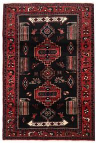 Koliai Matto 115X169 Itämainen Käsinsolmittu Musta/Tummanpunainen (Villa, Persia/Iran)