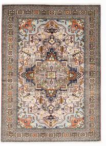 Ardebil Matto 140X190 Itämainen Käsinsolmittu Vaaleanharmaa/Beige (Villa, Persia/Iran)