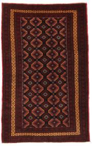 Beluch Matto 119X193 Itämainen Käsinsolmittu Tummanpunainen (Villa, Afganistan)