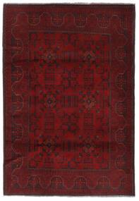 Afghan Khal Mohammadi Matto 129X192 Itämainen Käsinsolmittu Tummanpunainen (Villa, Afganistan)