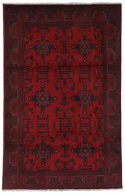 Afghan Khal Mohammadi Matto 123X196 Itämainen Käsinsolmittu Tummanpunainen/Tummanruskea (Villa, Afganistan)