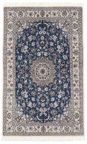 Nain 9La Matto 130X203 Itämainen Käsinsolmittu Musta/Tummanharmaa (Villa/Silkki, Persia/Iran)