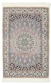 Nain 9La Matto 76X118 Itämainen Käsinsolmittu Musta/Tummanharmaa (Villa/Silkki, Persia/Iran)