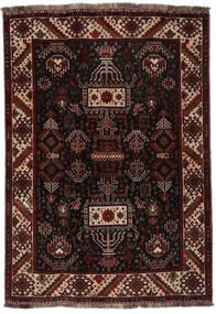 Ghashghai Matto 118X167 Itämainen Käsinsolmittu Musta (Villa, Persia/Iran)