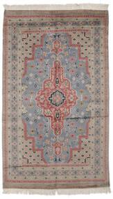 Pakistan Bokhara 2Ply Matto 120X205 Itämainen Käsinsolmittu Tummanharmaa/Tummanruskea (Villa, Pakistan)