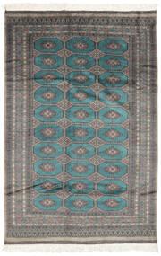 Pakistan Bokhara 2Ply Matto 160X240 Itämainen Käsinsolmittu Musta/Tummanharmaa (Villa, Pakistan)
