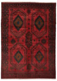 Beluch Matto 180X252 Itämainen Käsinsolmittu Musta/Tummanpunainen (Villa, Afganistan)