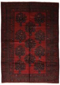 Beluch Matto 217X310 Itämainen Käsinsolmittu Musta (Villa, Afganistan)