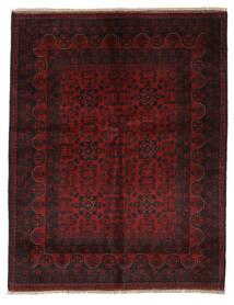 Afghan Khal Mohammadi Matto 155X198 Itämainen Käsinsolmittu Musta/Beige (Villa, Afganistan)