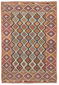 Kelim Afghan Old Style Matto 152X240 Itämainen Käsinkudottu (Villa, Afganistan)