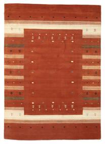 Loribaf Loom Matto 166X235 Moderni Käsinsolmittu Tummanpunainen/Beige (Villa, Intia)